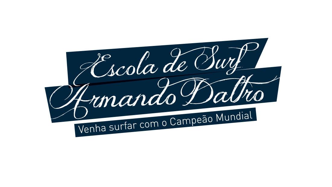 Marca Escola de Surf Armando Daltro