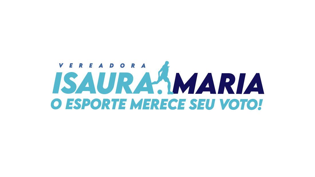 Marca e identidade visual para candidata a vereadora Isaura Maria